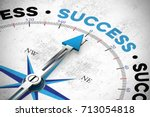 business success concept with