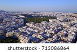 aerial drone photo of...   Shutterstock . vector #713086864