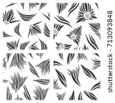assembly of patterns in bright... | Shutterstock .eps vector #713093848
