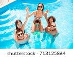 funky  sunny  romance  carefree ... | Shutterstock . vector #713125864
