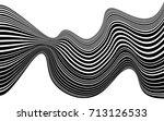 optical art abstract background ... | Shutterstock .eps vector #713126533