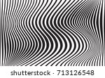 optical art abstract background ... | Shutterstock .eps vector #713126548