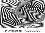 optical art abstract background ... | Shutterstock .eps vector #713126728