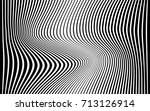optical art abstract background ... | Shutterstock .eps vector #713126914