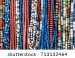 traditional ukrainian clay... | Shutterstock . vector #713132464