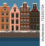 Traditional Amsterdam Houses ...