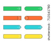 set of colorful web buttons...   Shutterstock .eps vector #713161780