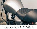 Vintage Motorcycle Detail On...