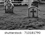 Old Tombs And Mourning Symbols...