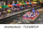 san antonio  texas   april 14 ... | Shutterstock . vector #713188519