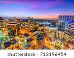 orlando  florida  usa aerial... | Shutterstock . vector #713196454