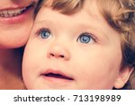 Portrait Of A Young Child With...