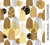 decorative seamless pattern... | Shutterstock .eps vector #713204428