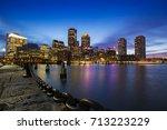 Boston Skyline From Downtown...