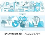 financial management  analysis...   Shutterstock .eps vector #713234794