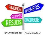 3d signpost   support concept | Shutterstock . vector #713236210