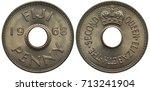 Fiji Fijian Coin 1 Cent 1968 ...