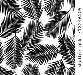 seamless floral pattern with... | Shutterstock .eps vector #713246509