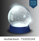 snow globe empty template...