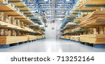 Warehouse With Variety Of...