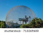 montreal  canada   august 13 ... | Shutterstock . vector #713269600