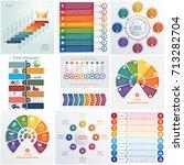 set 10 universal templates... | Shutterstock .eps vector #713282704