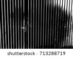 corrugated metal sheet serves... | Shutterstock . vector #713288719