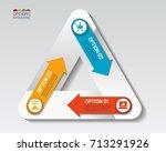 vector illustration info... | Shutterstock .eps vector #713291926