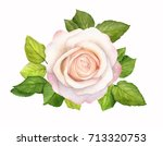 watercolor painting grunge... | Shutterstock . vector #713320753