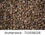 close up of jamaica blue... | Shutterstock . vector #713338228