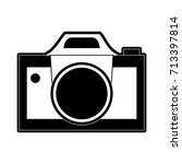 photographic camera icon image  | Shutterstock .eps vector #713397814
