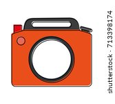 photographic camera icon image  | Shutterstock .eps vector #713398174