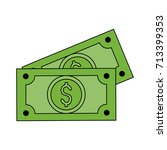 money related icon image  | Shutterstock .eps vector #713399353