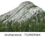 mountain near bow river in... | Shutterstock . vector #713405464