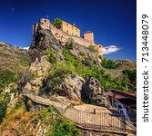 Citadel Of Corte In Corsica