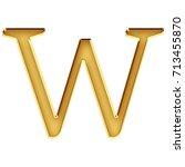 rich golden metallic beveled... | Shutterstock . vector #713455870