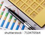 business accounting    Shutterstock . vector #713470564