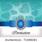invitation card | Shutterstock .eps vector #71348281