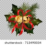 Christmas Decoration Holly Fir...