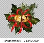 Christmas Decoration Holly Fir...