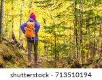 Autumn Hike Backpacker...