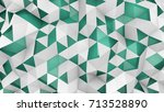 double layered polygonal... | Shutterstock . vector #713528890