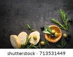 Black And Green Olives Olive...