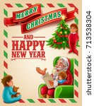 christmas card | Shutterstock .eps vector #713538304
