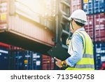 foreman control loading... | Shutterstock . vector #713540758