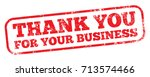 thank you for your business | Shutterstock .eps vector #713574466