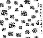 abstract hand drawn seamless... | Shutterstock .eps vector #713582734