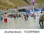 saint petersburg  russia  ... | Shutterstock . vector #713599804