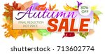 advertising banner or poster... | Shutterstock .eps vector #713602774
