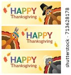 Happy Thanksgiving Banners 1  ...